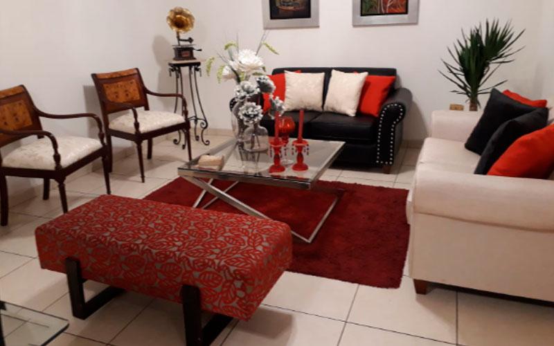 Habitación en Miraflores dentro de Condominio - Zona Común - Sala - CasasDepasyCuartos.com