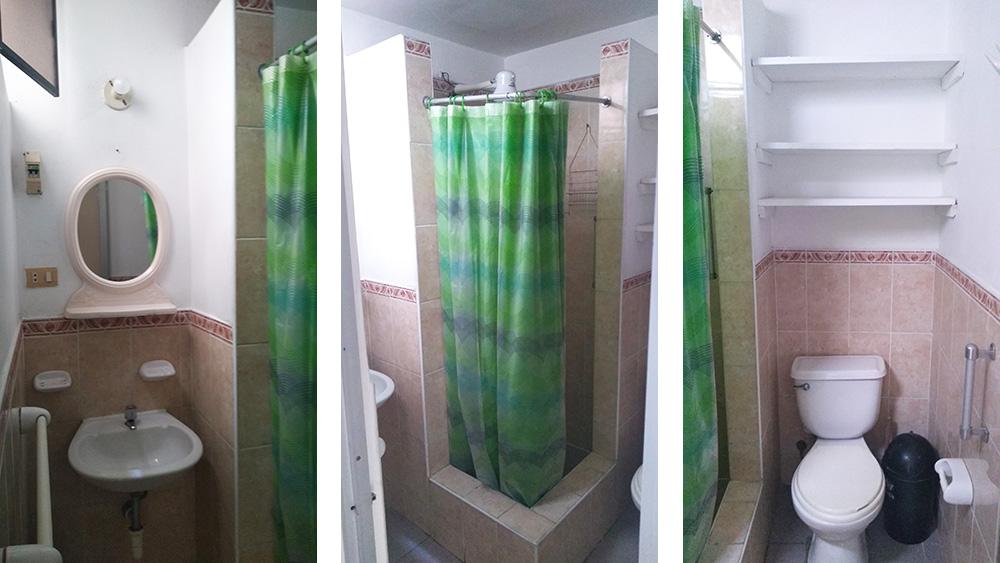 Baño completo en Mini Depa en Pueblo Libre - CasasDepasyCuartos.com