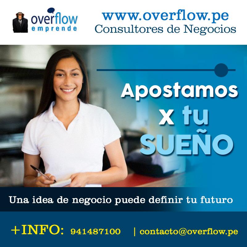 ¿Buscas Asesores de Emprendedores? Visita Overflow.pe