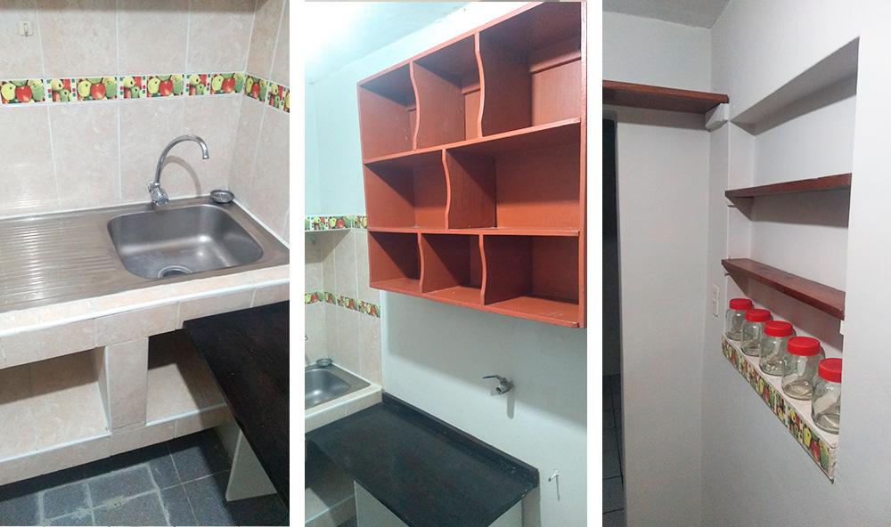 MD03 Alquiler Monoambiente 1er piso en Pueblo Libre - Cocina - CasasDepasyCuartos.com