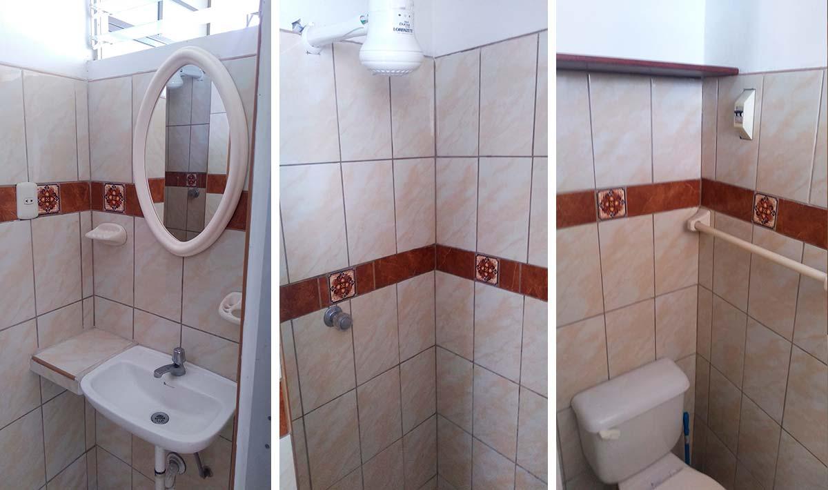 Baño en Monoambiente 2do Piso en Pueblo Libre - CasasDepasyCuartos.com